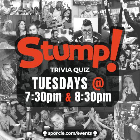 Sporcle Stump! Trivia Quiz at Crunchy's East Lansing.