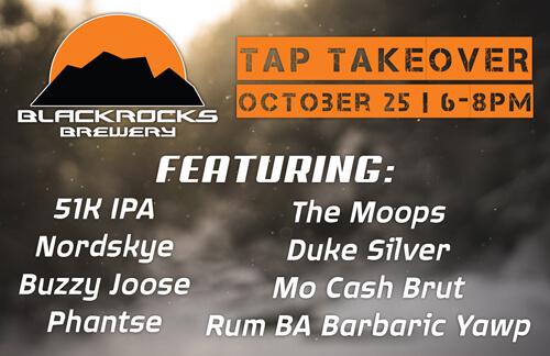 Blackrocks Tap Takeover